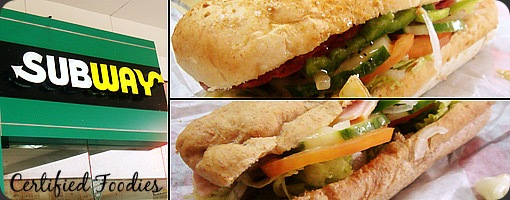 Subway Sandwiches and MOA branch review - CertifiedFoodies.com