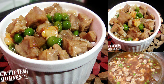Cebu Style Pork Steamed Rice Recipe