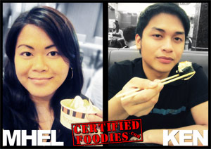 CertifiedFoodies.com Foodie Siblings Mhel and Ken