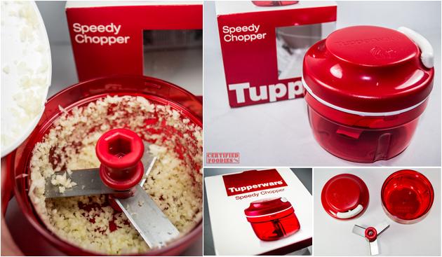Tupperware Food Chopper Review