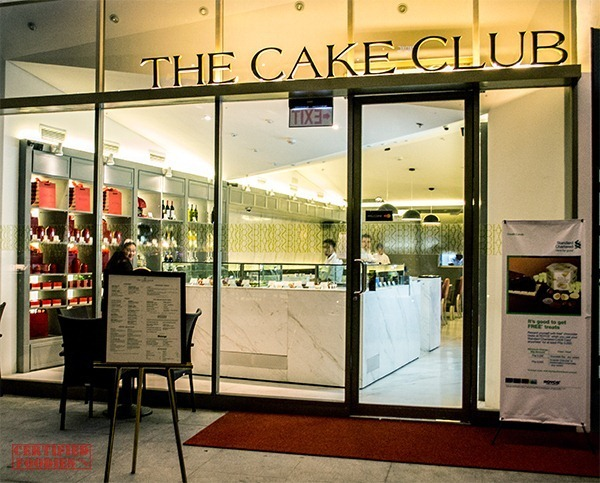 Diamond Hotel's The Cake Club at Bonifacio High Street Central, Taguig