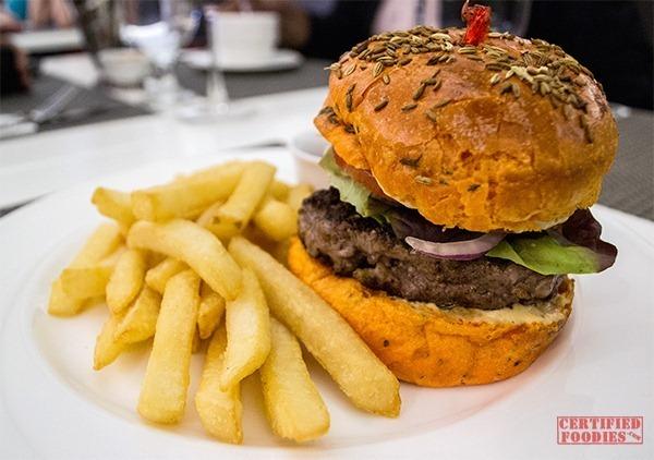 The Cake Club - Lamb Burger