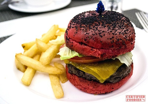 The Cake Club - Red Beet Burger