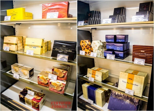 The Cake Club also sells Royce chocolates and other goodies