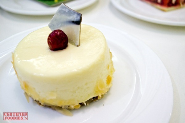 The Cake Club's Baked Cheesecake