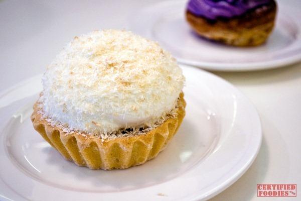 The Cake Club's Cecilia - their own version of buko pie