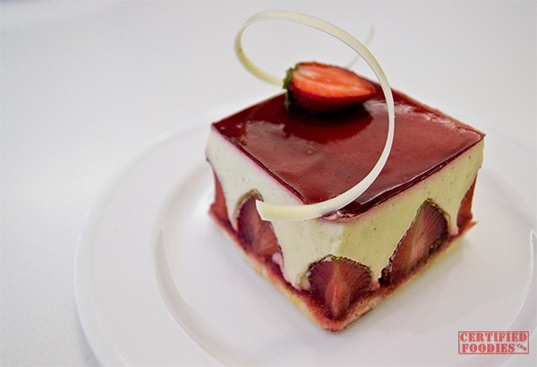 The Cake Club's Fraisier