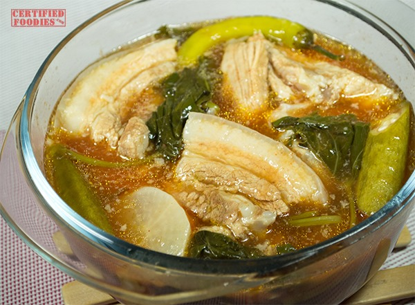 Del Monte Red Pork Sinigang recipe