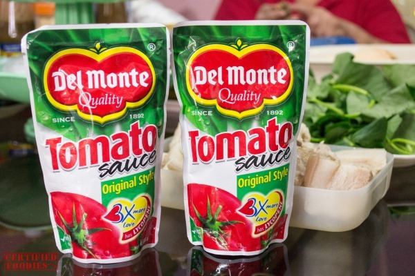 Del Monte Tomato Sauce for Red Pork Sinigang