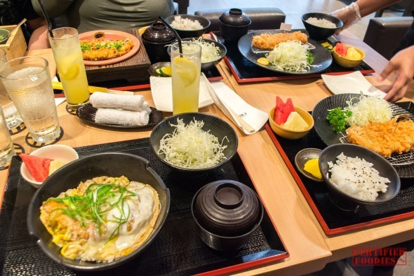 Our Yabu 'feast' LOL