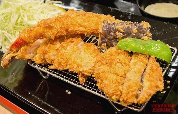 Yabu - Chicken and Seafood Katsu Set