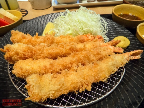 Yabu - Jumbo Prawn Set with Japanese Black Tiger Prawns