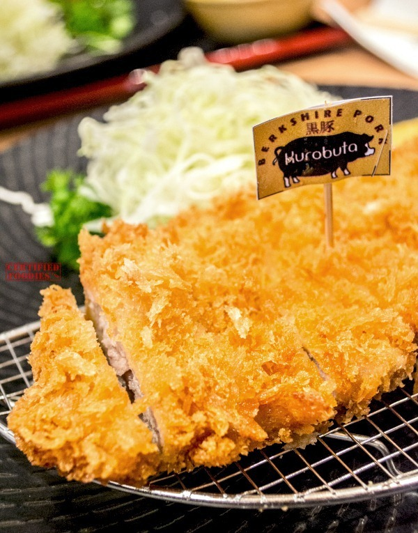 Yabu - Premium Kurobuta Pork Tonkatsu - perfectly golden
