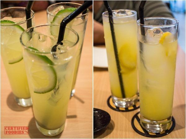 Yabu bottomless lemonade