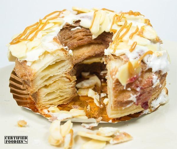 Dolcelatte Almond Caramel croughnut