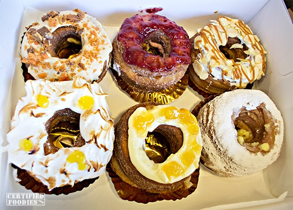 Dolcelatte croughnuts multitude of flavors