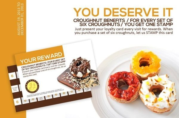 Dolcelatte's Croughnuts Rewards Card