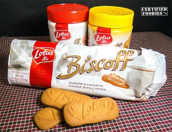 Lotus Biscoff Cookie Butter and Cookies