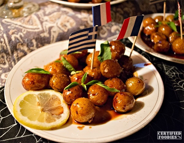 Potatoes cooked in molasses at Van Gogh is Bipolar