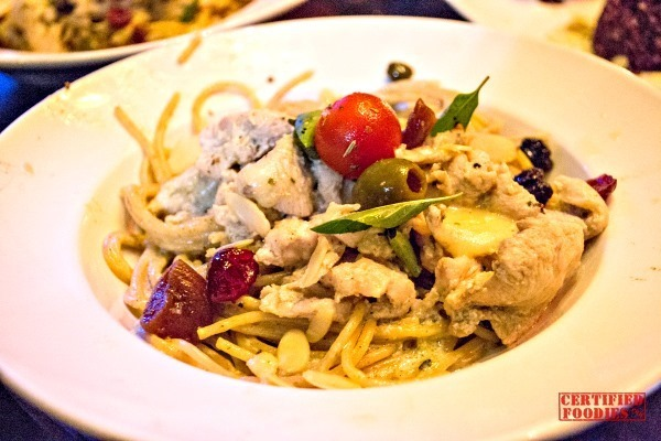 The Chill dish at Van Gogh is Bipolar - turkey creamy pasta[4]