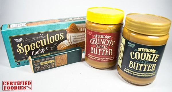 Trader Joe's Speculoos cookie butter, cookies and  dark chocolate with Speculoos cookie spread