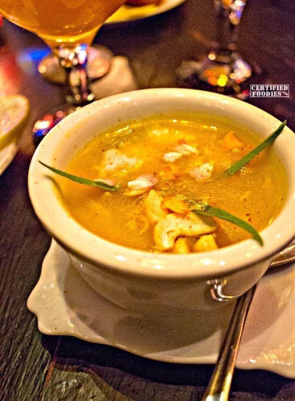 Turkey and fish soup at Van Gogh is Bipolar