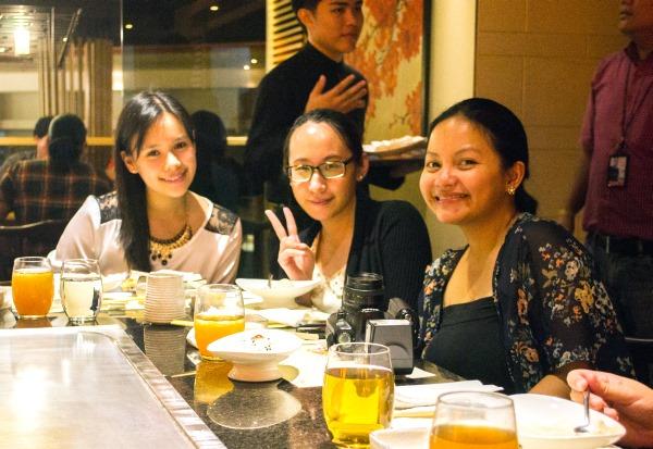 Jill, Sumi and Rina