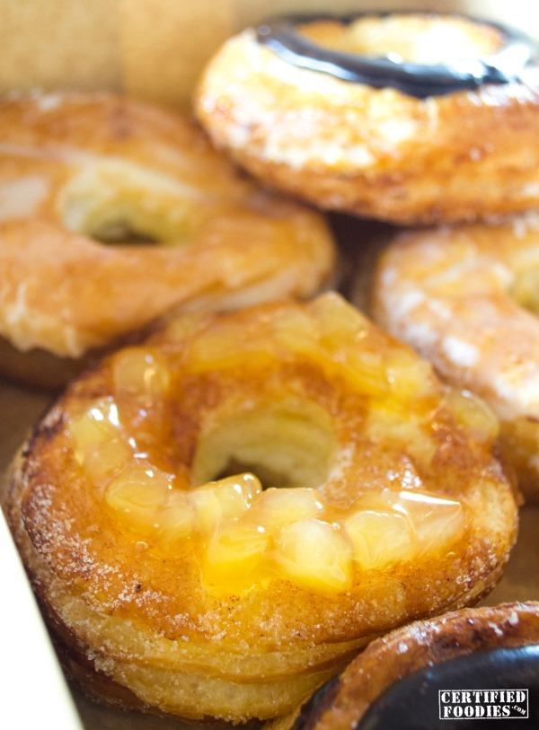 Krispy Kreme Kroissant Apple Cinnamon flavor