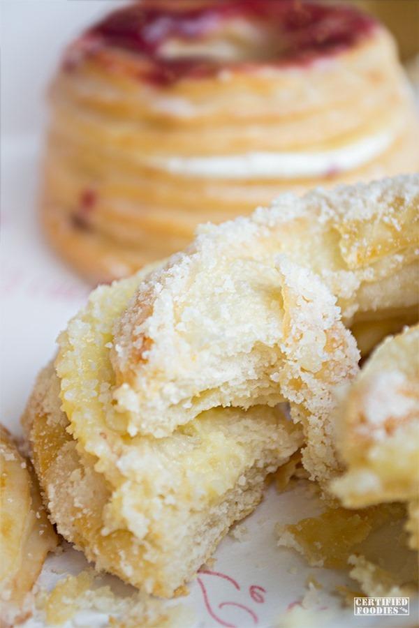 Le Coeur de France Parmesan Cheese croughnut