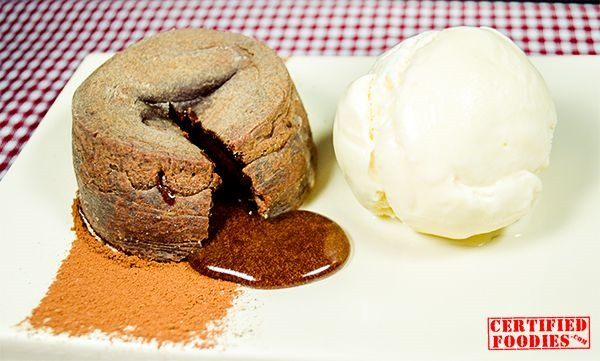 Oozing with chocolate goodness - molten chocolate cake recipe