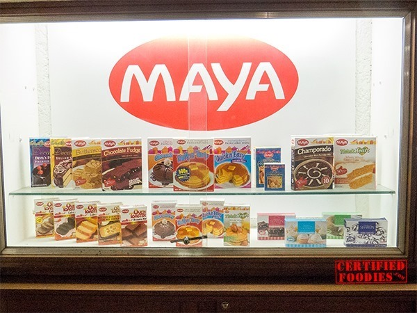 Maya Kitchen display of products