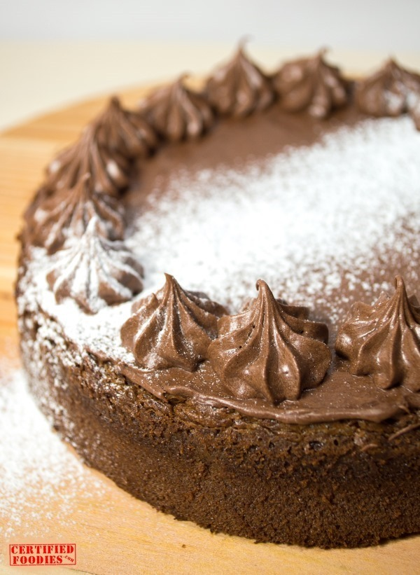Moist Chocolate Torte - first version