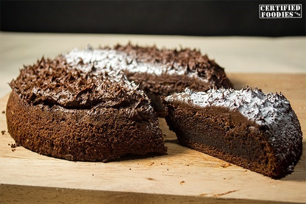 Moist Chocolate Torte recipe by Ken