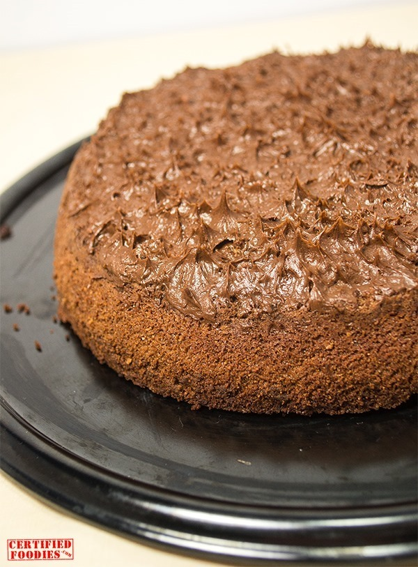 Moist Chocolate Torte - second version, 'rustic style'