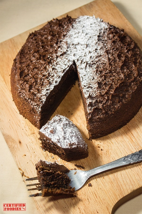 Recipe for Moist Chocolate Torte