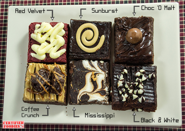 6 new flavors from Brownies Unlimited!