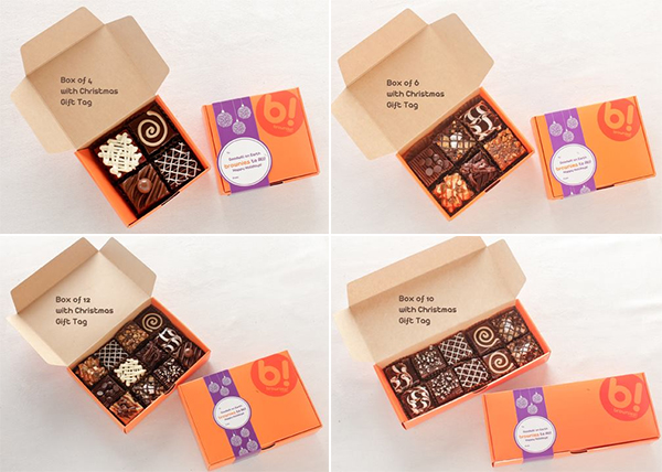 Brownies! Unlimited's gift boxes