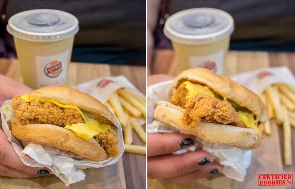 Burger King Chicken Crisp Fillet