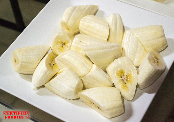 Burro bananas or saging na saba
