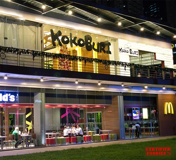 Koko Buri at Bonifacio Global City