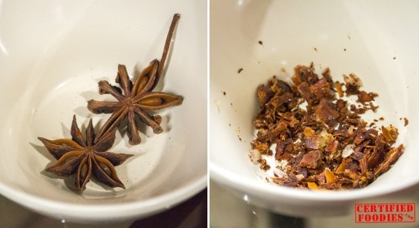 Star anise, ground for beef pochero recipe