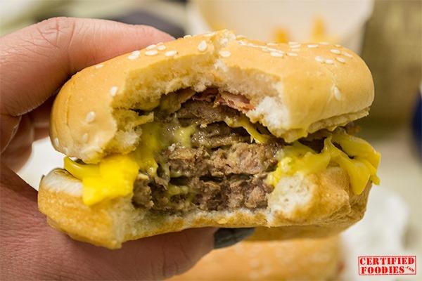 Taking on Burger King's King BK Stack