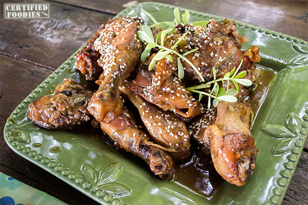 Honey-glazed Chicken at Bohol Bee Farm