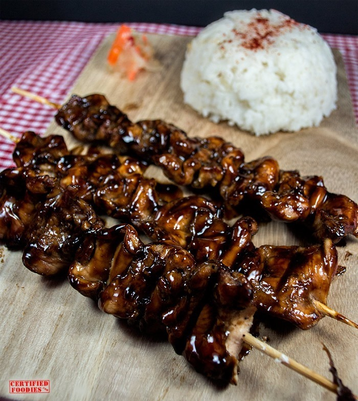 How to cook Japanese Chicken Yakitori