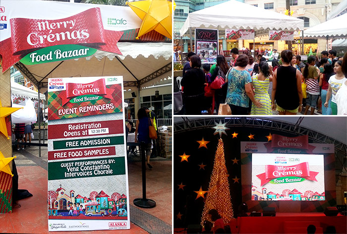 Merry Cremas Food Bazaar at Eastwood by Alaska Crema