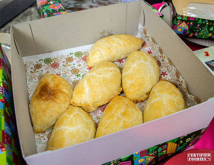 Pastry Parlour empanadas with Alaska Crema