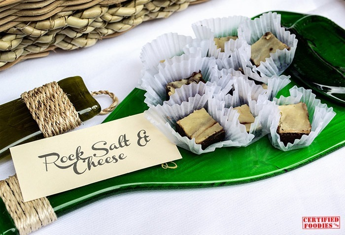 Rock Salt and Cheese Bar from Hey Gourmet