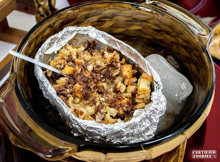 Serving Spoon Manila's Toblerone Bread Pudding