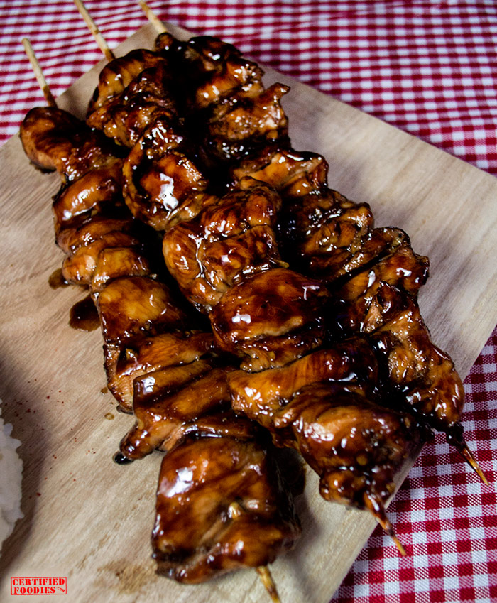 The Best Chicken Yakitori recipe - simple