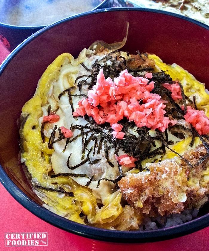 Chicken Katsu Don from OZEN